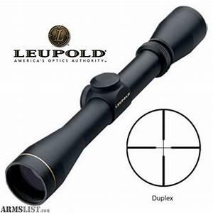 ARMSLIST - For Sale: NIB - Leupold VX-1 3-9X40 mm Matte ...