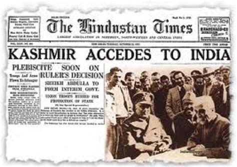 Kashmir Issue Was 'settled' In 1947. Why Then, Is The