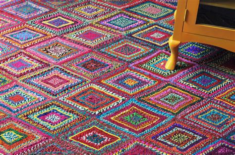 Home Decor Rugs : Recycled Cotton Rugs