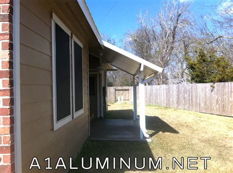 pitch aluminum patio cover and solar screens in