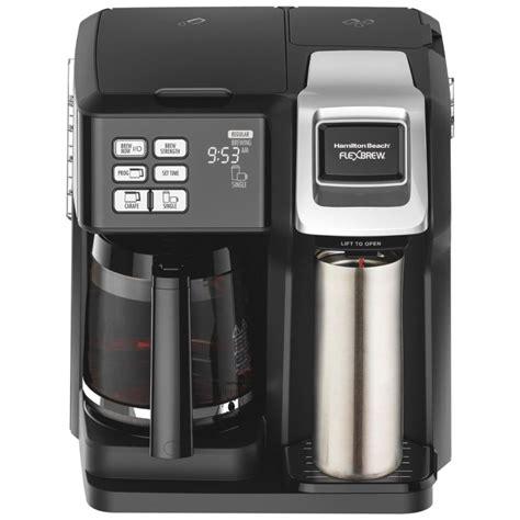 10 problem coffee leaks from dispenser. Hamilton Beach FlexBrew 2-Way Coffee Maker