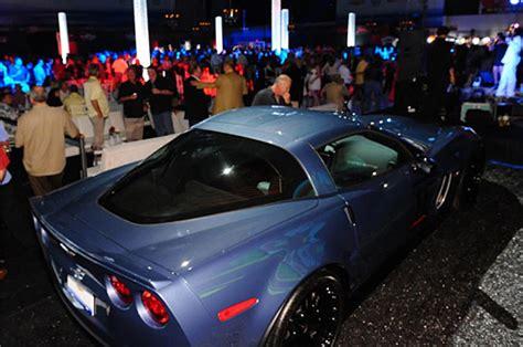 barrett jackson palm beach   corvette  carbon