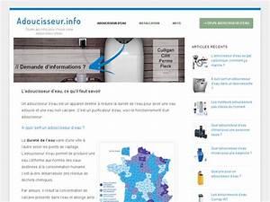 Quel Adoucisseur D Eau Choisir : comment choisir son adoucisseur d 39 eau ~ Dailycaller-alerts.com Idées de Décoration