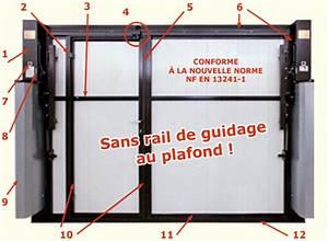 Systemes fermeture porte de garage pose deauville for Systeme fermeture porte garage