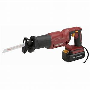 18 Volt Cordless Variable Speed Reciprocating Saw with ...