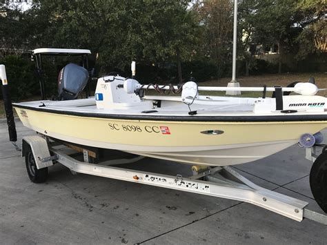 Hewes Boats Charleston Sc by Clean 2001 Hewes Redfisher 16 W Yamaha 115 The Hull