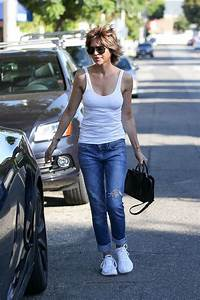 LISA RINNA in Jeans Out Shopping in West Hollywood 08/19 ...