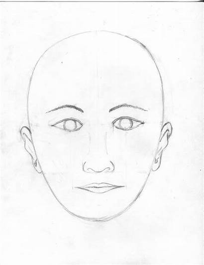 Draw Face Proportions Easy Drawing Faces Beginners