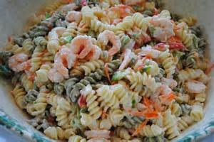 Christmas Shrimp and Pasta Salad