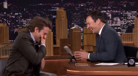 Jimmy Fallon And Bradley Cooper Can't Stop Laughing Again