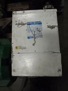 Ge Transformer 7 5kva  Single Phase  Primary Volts 240  480