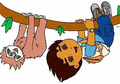 Diego Cartoon Clipart Dora Jaguar Alicia Characters