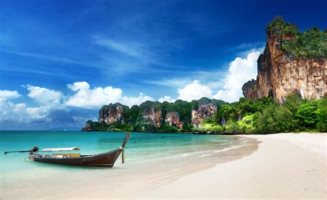 Railay Beach The Tropical Paradise In Thailand