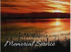 Memorial Service FRC Oak Harbor