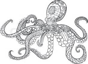 Octopus Adult Coloring Pages Printable