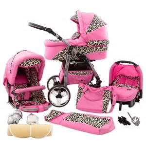 siège bébé à la route poussette rock n roll poussette leopard landau imprimé