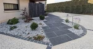 emejing revetement allee de jardin images amazing house With revetement allee de jardin