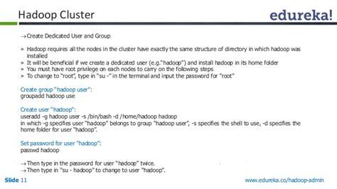 Hadoop Admin Resume by Top 5 Hadoop Admin Tasks