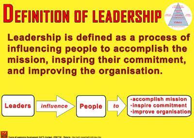 leadership leadership definition