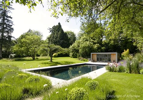 Garden Pool : Contemporary Garden Swimming Pool