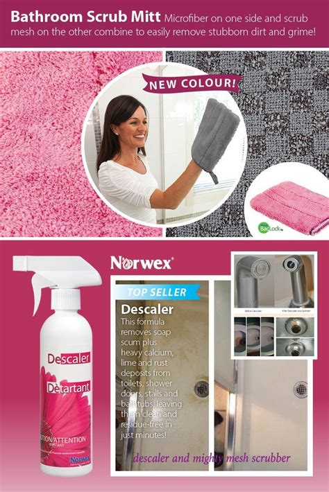norwex pink bathroom scrub mitt 17 best images about getting clean with norwex on