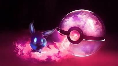 Pokeball Eevee Ghost Pokemon Wallpapers Ball Cool