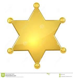 congratulation banner blank golden sheriff royalty free stock photos