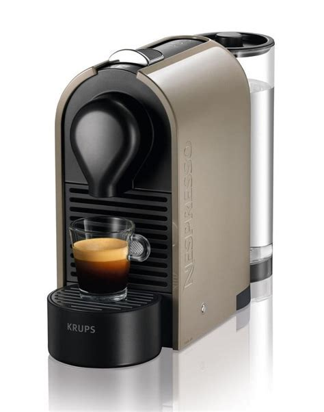 Krups XN250A40 Nespresso U Pod Coffee Machine 19 Bar 0.8
