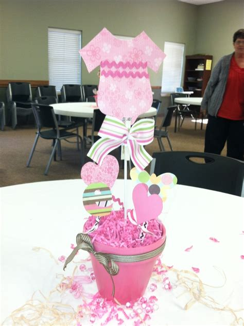 ideas for baby shower centerpieces for tables baby shower centerpiece baby girl baby shower ideas