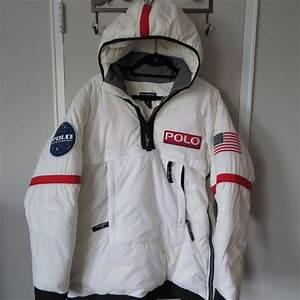Vintage Ralph Lauren Polo Astronaut Jacket Parka Coat Rare ...