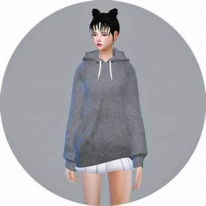 SIMS4 MarigoldHoodie for female • Sims 4 Downloads