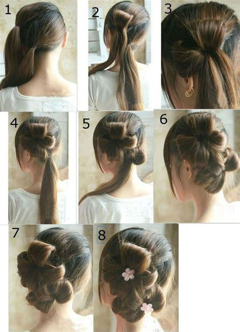 simple wedding hairstyle step by step wedding hairstyles long hair step by step http