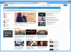 YouTube No Longer Working for Some Internet Explorer 11