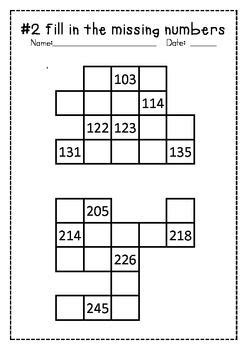 missing number grids numbers     images