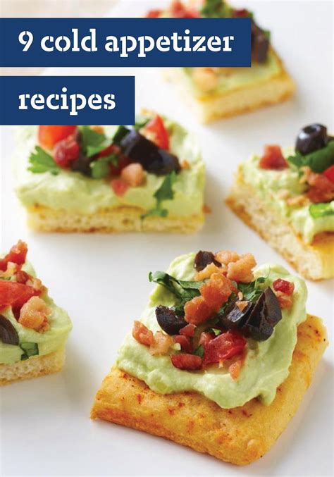 You never get a second chance at a first impression. Cold Appetizer Recipes | Cold appetizers, Cold appetizer ...