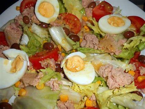 dijon cuisine recette de salade composée au thon par jeanmerode