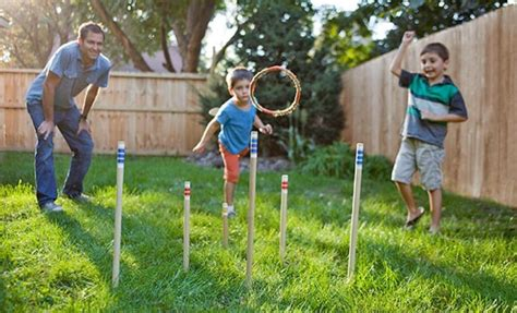 8 Cool Family Outdoor Games For A Weekend Together. Painting Ideas For Small Bathrooms. Light Green Kitchen Ideas. Outfit Ideas College. Design Ideas Using Vinyl Records