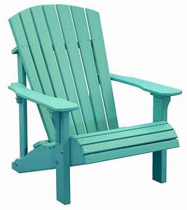 Poly Deluxe Adirondack Chair Outdoor Furniture