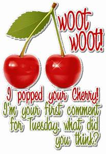Tuesday Picture... Cherry Pop Quotes