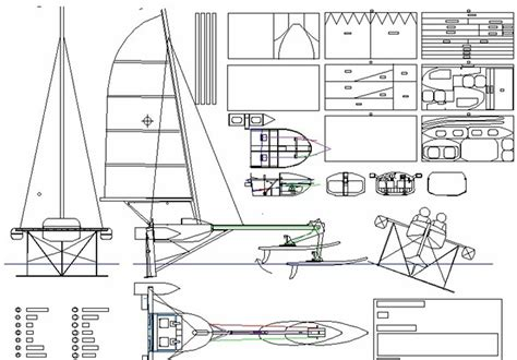 Hydrofoil Boat Pdf by Hydrofoil Sailboat Design Montage Quot Valkyrie Quot