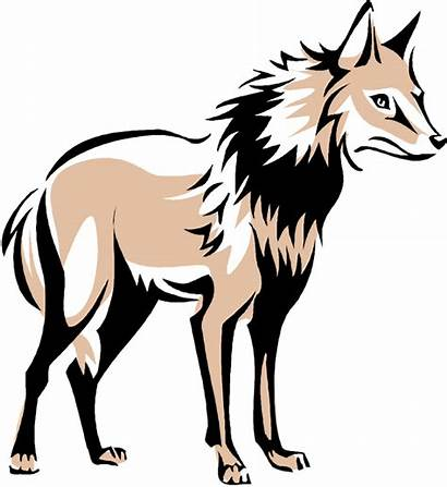 Wolf Clipart Howling Clip Cartoon Wolves Cliparts