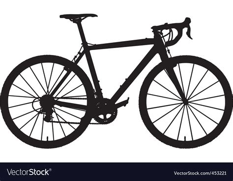 Cyclocross Bicycle Royalty Free Vector Image