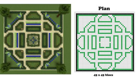 Minecraft Construction Plan