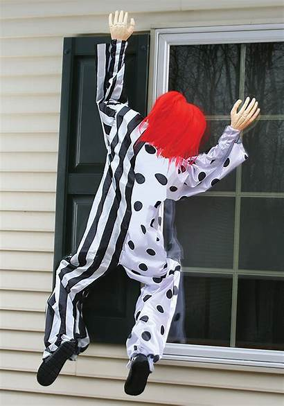 Window Clown Hanging Decoration Killer Halloween Decorations