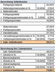 Verkaufspreis Berechnen : preiskalkulation wie kalkuliere ich meinen verkaufspreis ~ Themetempest.com Abrechnung