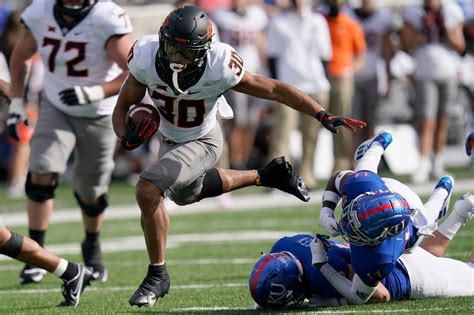 No. 17 Oklahoma State rolls to 47-7 victory over Kansas AP ...