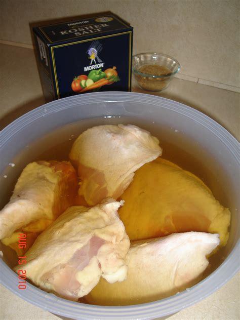 recipe basic brine  moist grilled chicken bargains