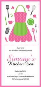 kitchen tea invites ideas kitchen tea invitations apron