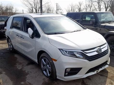 Export paperwork, shipping to any major port. Salvage 2019 Honda Odyssey Ex Van For Sale   Salvage Title ...