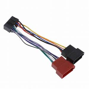 16 Pin Iso Wiring Harness Connector Adaptor Car Stereo